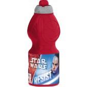 Бутылка пластиковая (спортивная, фигурная, 400 мл). Звездные Войны Последние джедаи