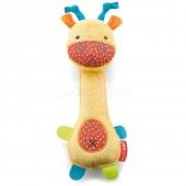 Skip*Hop. Развивающая игрушка-погремушка (с рождения). Жирафик