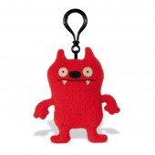 Игрушка мягкая в виде брелка (Dave Darinko, красный, 10 см). Uglydoll