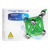 МК-0034G конструктор MAGNETICUS 34 элемента зеленый