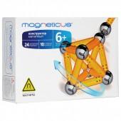 МК-0034Y конструктор MAGNETICUS 34 элемента желтый