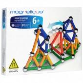 МК-0157 конструктор MAGNETICUS 157 элементов 4 цвета