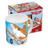 Кружка керамическая в подарочной упаковке (№1, 325 мл). Самолеты