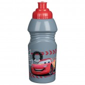 Бутылка спортивная малая (№2, 375 мл). Тачки