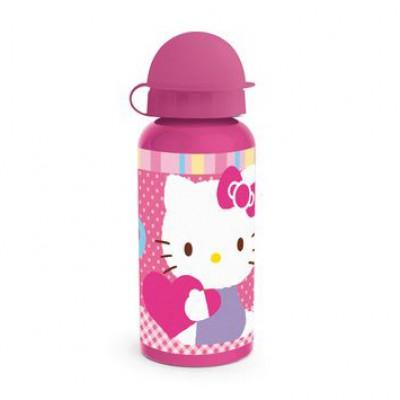 Бутылка алюминиевая (400 мл). Hello Kitty