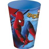 Стакан пластиковый (430 мл). Человек-паук 2017