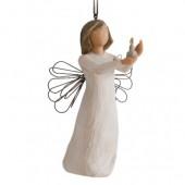 Фигурка с подвеской Willow Tree (Ангел надежды, 11 см)