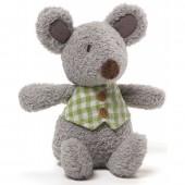 Игрушка мягкая (Mini Meadow Rattles, Мышонок,  15,5 см). Gund