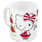 Кружка керамическая (№5, 325 мл). Hello Kitty