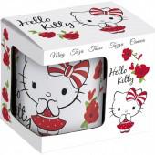 Кружка керамическая в подарочной упаковке (№5, 325 мл). Hello Kitty