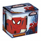 Кружка керамическая в подарочной упаковке (№3, 325 мл). Великий Человек-Паук