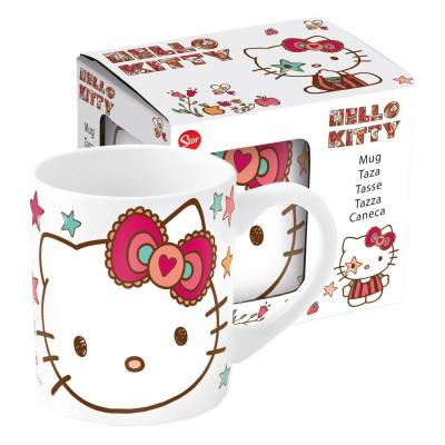 Кружка керамическая в подарочной упаковке (№4, 220 мл). Hello Kitty