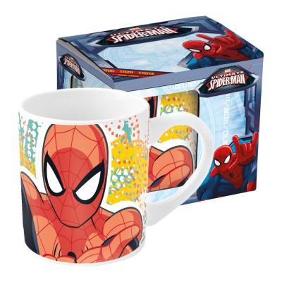 Кружка керамическая в подарочной упаковке (№3, 220 мл). Великий Человек-паук