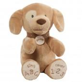Игрушка мягкая (Spunky Dog Tan ABC/123, 35,5 см). Gund