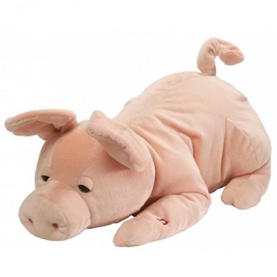 Игрушка мягкая (Wiggles The Sleepy Snoring Pig Animated, 24 см). Gund