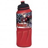 Бутылка пластиковая (спортивная 530 мл). Мстители Галерея