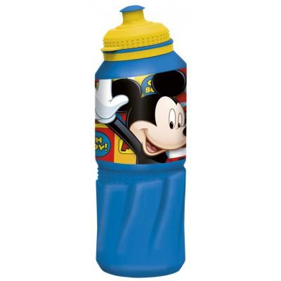 Бутылка пластиковая (спортивная 530 мл). Микки Маус Символы