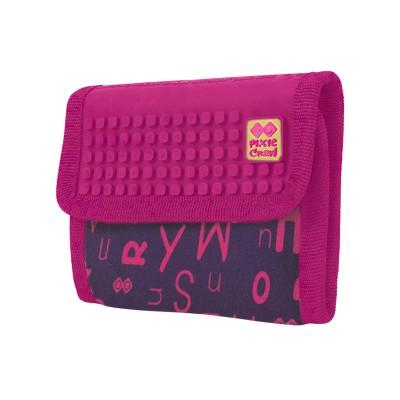 Кошелек Pixie алфавит/розовый
