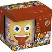 Кружка керамическая в подарочной упаковке (325 мл). Эмодзи Love eyes
