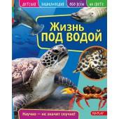 Детская энциклопедия. Жизнь под водой. Развивающая книга