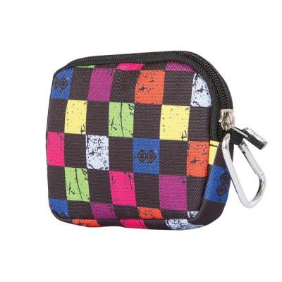 Сумочка Pixie разноцветный/черный, маленькая (с карабином)