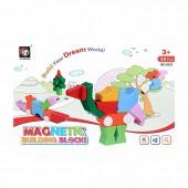 Магнитные блоки 3D пазл 48 деталей (упаковка 23*35 см)