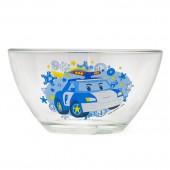 """Салатник """"Робокар Поли"""" Поли (дизайн 2), 12,5 см, стекло"""