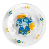 "Тарелка ""Робокар Поли"", Поли (матовая), 19,5 см, стекло"