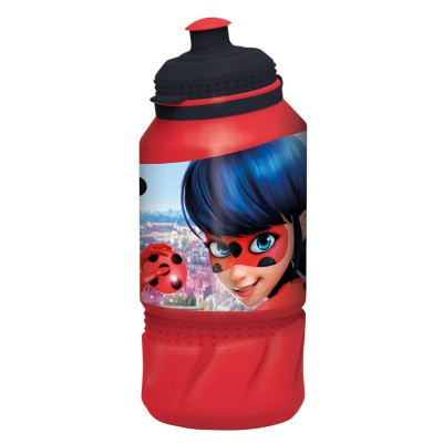 Бутылка пластиковая (спортивная 420 мл). Леди Баг
