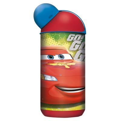 Бутылка пластиковая (эрогономичная, 400 мл). Тачки Грани гонок