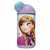 Бутылка пластиковая (эрогономичная, 400 мл). Холодное сердце Цветы