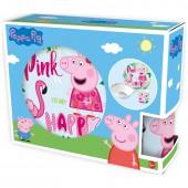 Набор посуды керамической в подарочной упаковке (3 предмета). Свинка Пеппа и Фламинго