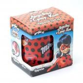 """Кружка """"Леди Баг и Супер Кот"""" Дизайн 2, в подарочной упаковке, 250 мл, стекло"""