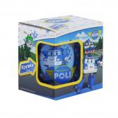 """Кружка """"Робокар Поли"""", Поли, в подарочной упаковке, 250 мл, стекло"""