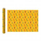 Упаковочная бумага в рулоне Сказочный патруль (желтая)