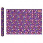 Упаковочная бумага в рулоне Сказочный патруль (фиолетовая)