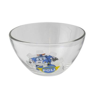 """Салатник """"Робокар Поли"""" матовый, 12,5 см, стекло"""