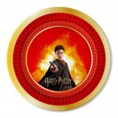 Harry Potter. Набор бумажных тарелок, 6 шт, d=180 мм