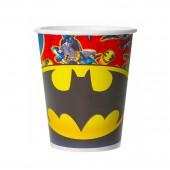 Batman. Набор бумажных стаканов, 6 шт*250 мл