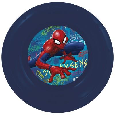 Миска пластиковая. Человек-паук Граффити