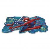 Подставка пластиковая под посуду (фигурная, с 3D изображением). Человек-паук Граффити