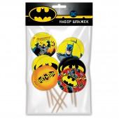 Batman. Набор шпажек для канапе и капкейков, 12 шт