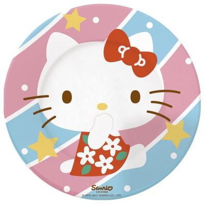 Тарелка керамическая. Hello Kitty. Искусство