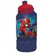 Бутылка пластиковая (спортивная 420 мл). Человек-паук Граффити