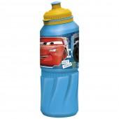 Бутылка пластиковая (спортивная 530 мл). Тачки. К гонкам готов