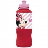 Бутылка пластиковая (спортивная, эрогономичная, 400 мл). Минни Электрическая кукла