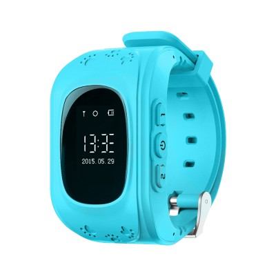 Детские часы NDTech Kid 05 / Голубые