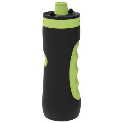 Бутылка пластиковая (спортивная, 680 мл.), черная
