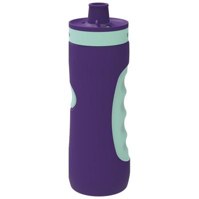 Бутылка пластиковая (спортивная, 680 мл.), лиловая