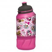 Бутылка пластиковая (спортивная 420 мл). LOL